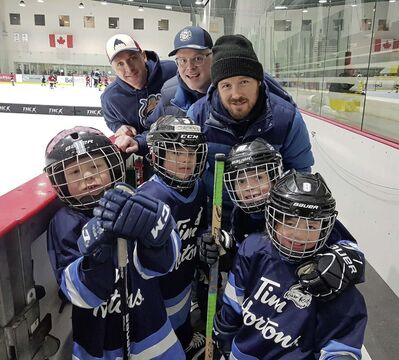 A photo of the Robert A. Steen River Rats from the 2019-20 hockey season. The SJAMHA opened registration for the 2020-21 season at the end of July.