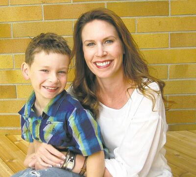 Lara-Lea Avery started experiencing symptoms of colorectal cancer while pregnant with son Riley.