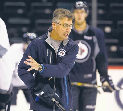 Jets coach Claude Noel has to get his roster down to 21 skaters by Monday.