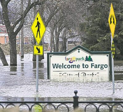 JIM MONE / THE ASSOCIATED PRESS ARCHIVESFargo had flooding in April 2011.