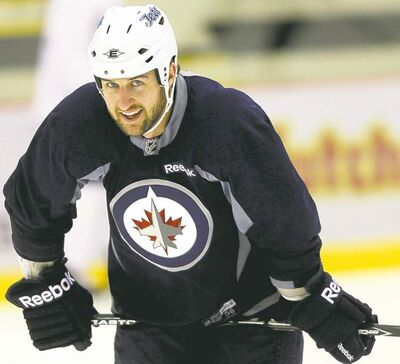 Tanner Glass said he wanted to stay a Jet.
