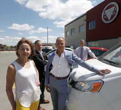 PHIL HOSSACK / WINNIPEG FREE PRESS</p><p>Maureen (from left), Peter, Harry and Rial Black have divested themselves of ProTELEC's Home Monitored Alarm Service.</p>