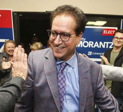 MIKE DEAL / WINNIPEG FREE PRESS FILES</p><p>Federal Conservative incumbent in the Charleswood-St. James-Assiniboia-Headingley riding Marty Morantz appears to have retained his seat with a victory over Liberal candidate Doug Eyolfson by a margin of just 24 votes.</p>