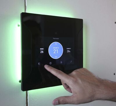 <p>Umbrela's smart home system that just plugs into the wiring of the house allowing the user to control many electrical functions in the house like lights, music, thermostat etc. with the filch of one switch or from their smart phone and does not rely on WiFi.</p></p>