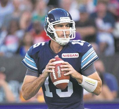 Argonauts QB Ricky Ray torched the Bombers last year, going 79 for 100 with 1,037 yards passing, six TDs and one interception in three games.