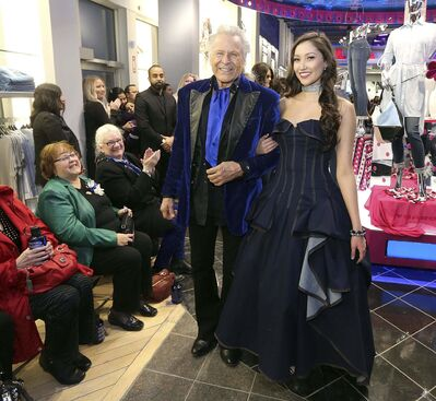 JASON HALSTEAD / WINNIPEG FREE PRESS</p><p>Fashion mogul Peter Nygard