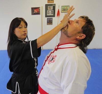 Sifu Peggy McRitchie teaches a women's self-defence course out of the new location of Plum Blossem Martial Arts Academy on Pembina Highway.