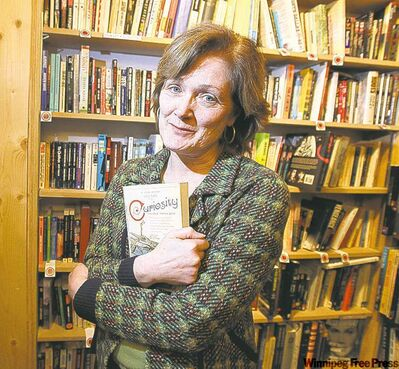 Novelist Joan Thomas's Curiosity is nominated for two Manitoba Book Awards.