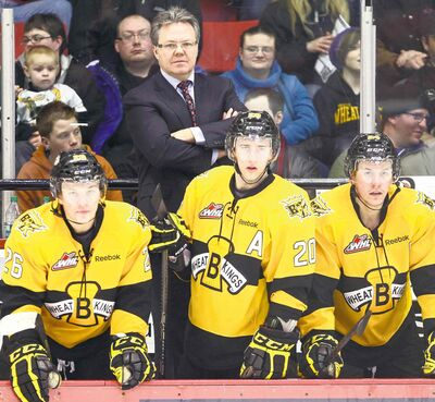 Kelly McCrimmon does it all for the Brandon Wheat Kings. In addition to being head coach he is also chief cook and bottle washer.