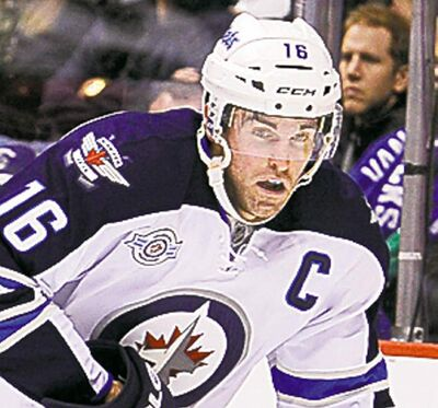 Andrew Ladd and the boys hit the MTS Centre ice for the first time this year on Jan. 19 vs. Ottawa.