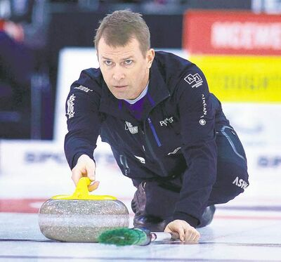 Jeff  Stoughton  and his  foursome won its first Grand Slam event in Nova Scotia last weekend and appears to be in good shape for  a run  at another  provincial title. Stoughton has skipped winners in five of the last seven provincials.
