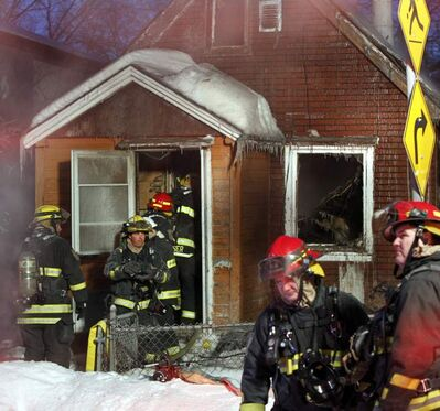 Firefighters were called this morning to house on Granville Street.