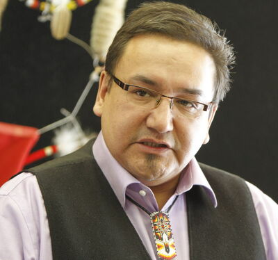 Manitoba Keewatinowi Okimakanak Grand Chief David Harper