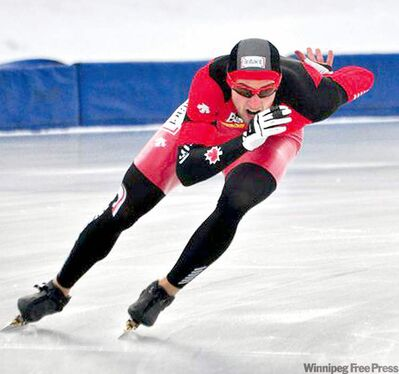 Tyler Derraugh is preparing for his first competition as a member of Canada's long track speedskating squad.