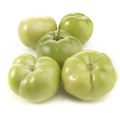 Green tomatoes can be found at specialty and farmers' markets and have a tart flavor perfect for frying or pickling.