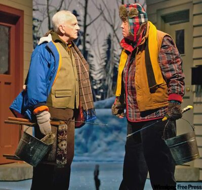 The Royal Manitoba Theatre Centre's Grumpy Old Men saw lower attendance.