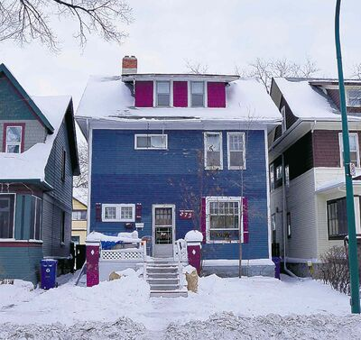 Investigators found the cats crammed into this house at 273 Evanson St. were underfed and in various states of health.