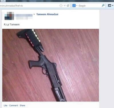 Facebook postings obtained by the Free Press show apparent animosity between parties allegedly involved in early-morning shootings on Seven Oaks Avenue in West Kildonan March 31 and April 1.
