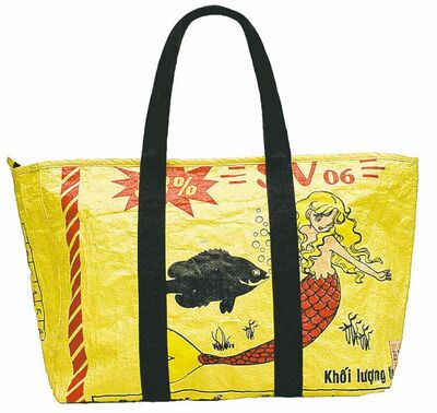 Mermaid Everyday Large Tote Bag