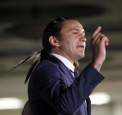 PHIL HOSSACK / FREE PRESS FILES</p><p>Winnipeg's mayor and Wab Kinew have a history together.</p>