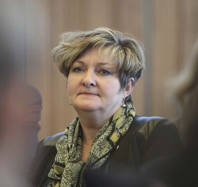 Waverley West city councillor Janice Lukes. (Ruth Bonneville / Winnipeg Free Press files)