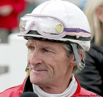 Alan Cuthbertson, three-time leading jockey at Assiniboia Downs, died Monday afternoon.