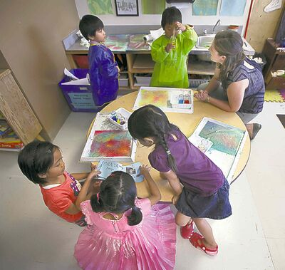 Phil Hossack / Winnipeg Free Press ArchivesResearch suggests the benefits of all-day kindergarten can be short-lived.