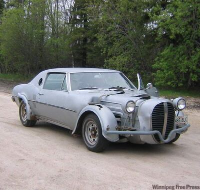 The Firebird before restoration.