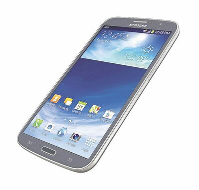 The Samsung Galaxy Mega.
