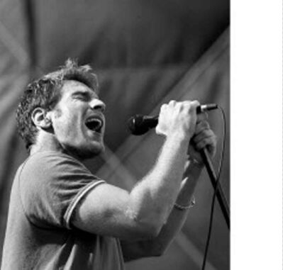 JEFF DE BOOY / FREE PRESS FILES</p><p>I Mother Earth lead singer Edwin belts out a tune at Edgefest '97 at the Winnipeg Stadium.</p>