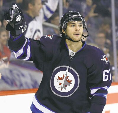 The trade that brought Michael Frolik to the Jets is the gift that keeps on giving.