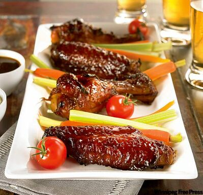 Korean BBQ turkey wings