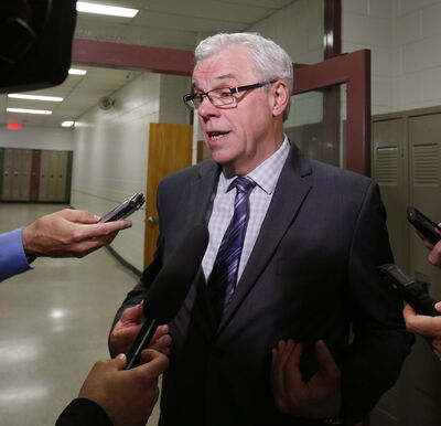 Premier Greg Selinger was questioned by Conservative leader Brian Pallister Monday on why he removed Melnick from his caucus.