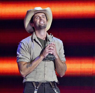 Dean Brody won the Male Artist of the Year award during the Canadian Country Music Awards in Edmonton earlier this month.