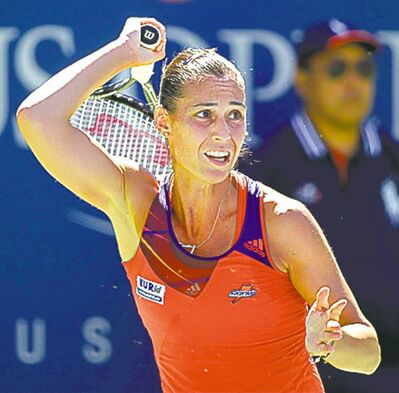 Flavia Pennetta reached her first Grand Slam semifinal at age 31.