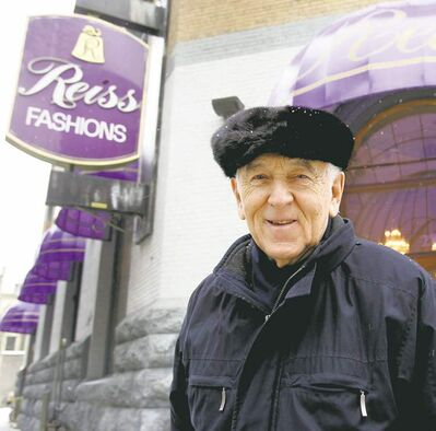 WAYNE GLOWACKI / WINNIPEG FREE PRESS archivesHarry Reiss, along with his brother, Sam, started the high-end fur business in 1952.