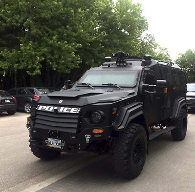 BORIS MINKEVICH / WINNIPEG FREE PRESS FILES</p><p>Winnipeg police services' Gurkha armoured vehicle was used 78 times in 2018.</p>