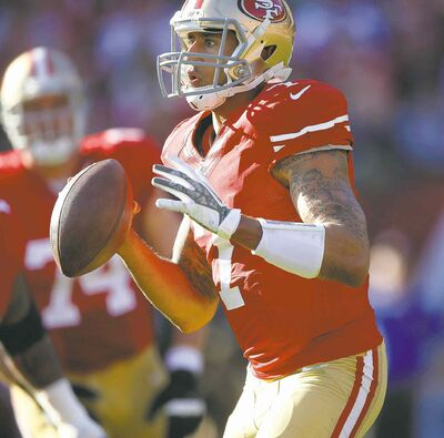 Josie Lepe / Bay Area News Group / MCT archivesSan Francisco QB Colin Kaepernick has been outplayed by his Seahawks counterpart Russell Wilson in two straight games.
