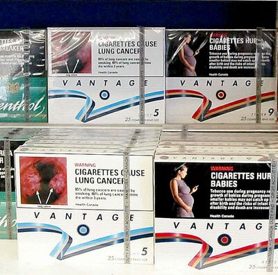 Cigarettes for sale