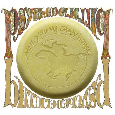 "This CD cover image released by Reprise Records shows the latest release by Neil Young, ""Psychedelic Pill."" (AP Photo/Reprise)"