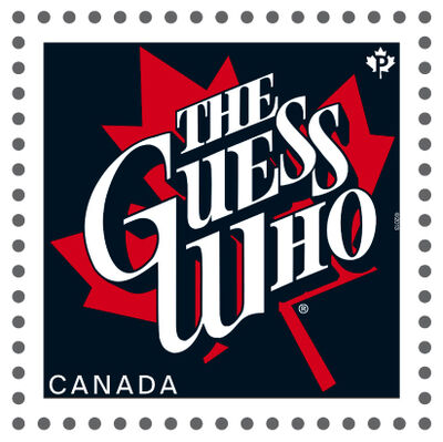 Stamps honouring Canadian musicians, including the Guess Who, go on sale Friday.