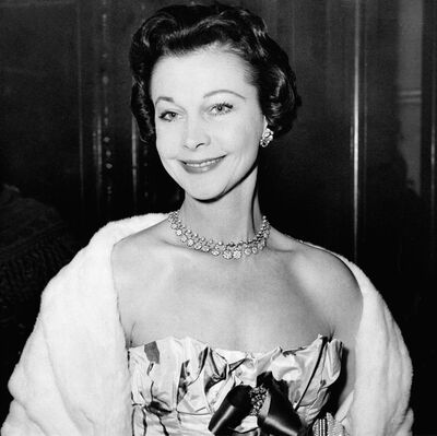 Actress Vivien Leigh shown in an undated photo. THE CANADIAN PRESS/AP