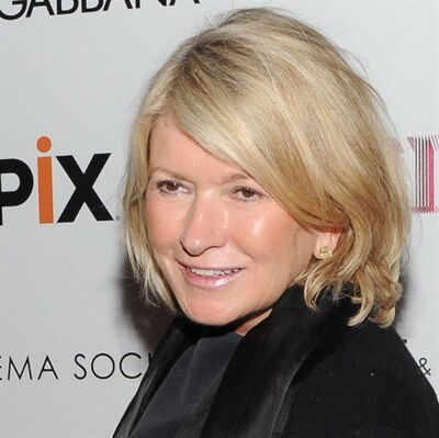 Martha Stewart is pictured on June 18, 2013 in New York. THE CANADIAN PRESS/AP, Evan Agostini/Invision