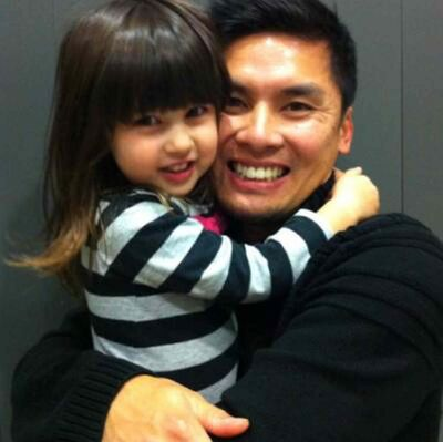 Ho Lau and daughter Evelyn, 3, who died New Year's Day from injuries sustained in a North Dakota highway crash