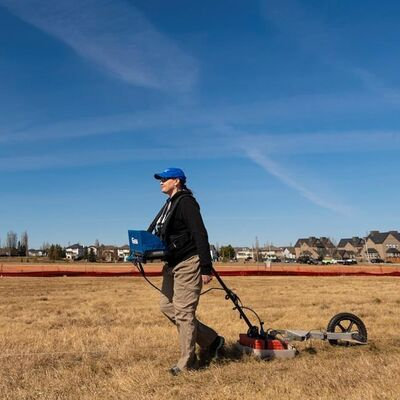 Kisha Supernant, an anthropology professor at the University of Alberta in Edmonton is shown in this handout image on Tuesday April 20, 2021. Searching for unmarked burial sites is a painstaking process that not all Indigenous communities could be immediately ready for after the remains of more than 200 children were found at a former residential school in British Columbia, says an anthropologist who has done similar projects on the Prairies. THE CANADIAN PRESS/HO-University of Alberta-John Ulan*MANDATORY CREDIT*