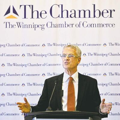 Mike Deal / Winnipeg Free PressBrian Scharfstein will emphasize more participation in the chamber.