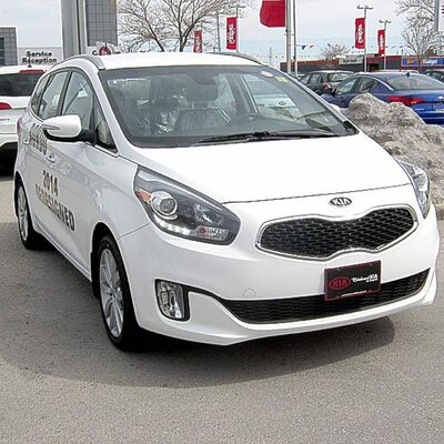 The newly-designed Kia Rondo is in showrooms now.