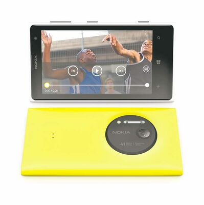 The Nokia Lumia 1020 features a  state-of-the-art camera.