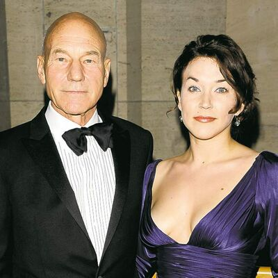 Actor Patrick Stewart and Sunny Ozell attend the opening night of The Metropolitan Opera at Lincoln Center in New York on Monday, Sept. 27, 2010. (Peter Kramer / The Associated Press files)