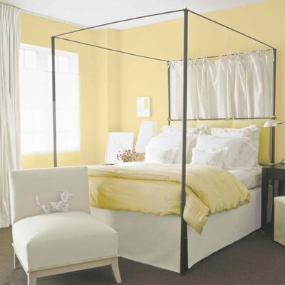 Mellow yellow is the hottest colour for 2014, expected to take the spotlight in all areas of interior decor, says CIL paint. Pictured on the walls of these rooms is CIL�s Creamy (50YY 77/285), named the brand�s 2014 colour of the year.